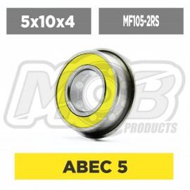 Ball bearings pack 5x10x4 MF105-RSZ - 10 pcs