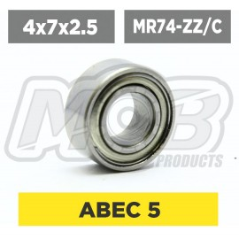Ball bearing 4x7x2.5 ZZ Ceramic