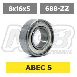 Ball bearings pack 8x16x5 688-ZZ - 10 pcs