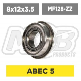 Ball bearing 8x12x3.5 Flanged ZZ