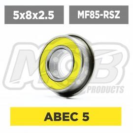 Ball bearings pack 5x8x2.5 Flanged MF85-RSZ - 10 pcs
