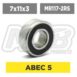 Ball bearing 7x11x3 2RS