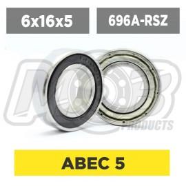 Ball bearings pack 6x16x5 696A-RSZ - 10 pcs