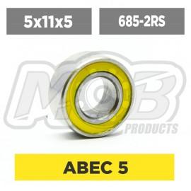 Ball bearings pack 5x11x5 685-2RS - 10 pcs