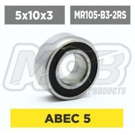Ball bearings pack 5x10x3 MR85-RSZ - 10 pcs