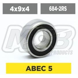 Ball bearings pack 4x9x4 684-2RS - 10 pcs