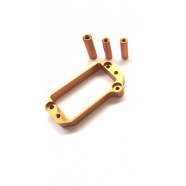 HB E817 Servo Holder - Orange