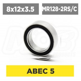 Ball bearing 8x12x3.5 2RS ceramic