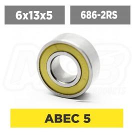 Ball Bearing 6x13x5 2RS