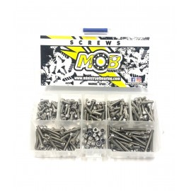 Stainless Steel Cylinder Head M3 Screw Kit- 200 units.