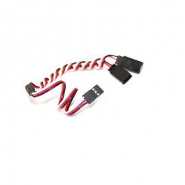 Servo Y wire with 3 Futaba connector
